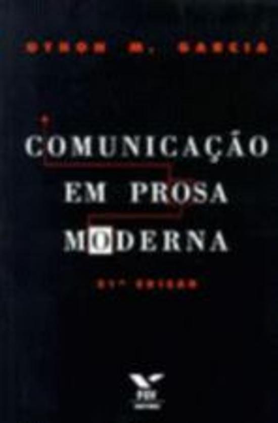 COMUNICACAO EM PROSA MODERNA