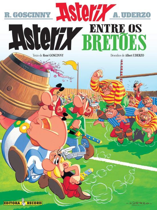 ASTERIX ENTRE OS BRETOES