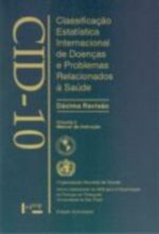 CID-10 - V. 2 - MANUAL DE INSTRUCAO