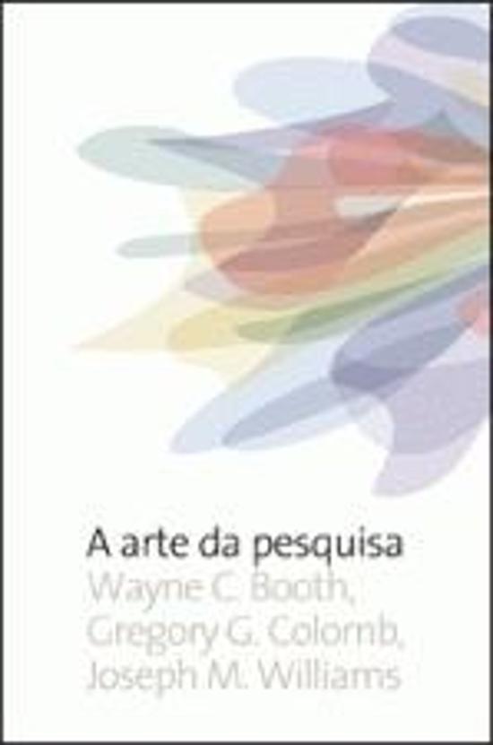 ARTE DA PESQUISA, A