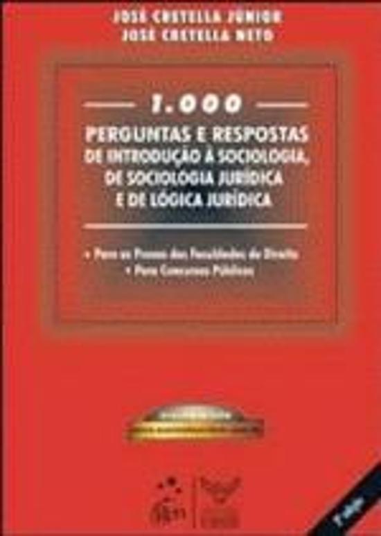 1000 PERGUNTAS E RESPOSTAS DE INTRODUCAO A SOCIOLO