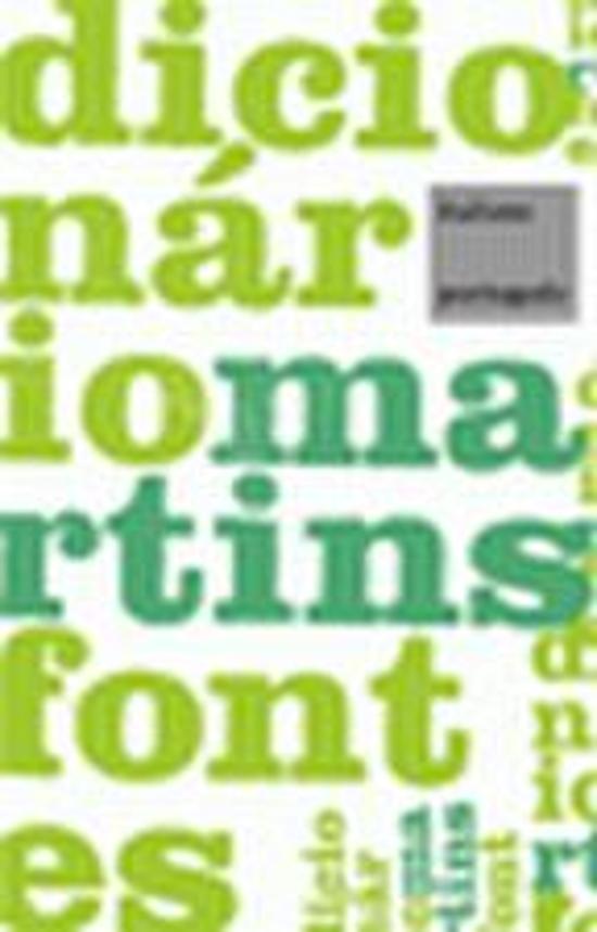 DICIONARIO MARTINS FONTES - ITALIANO-PORTUGUES