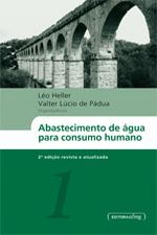 ABASTECIMENTO DE AGUA PARA CONSUMO HUMANO - 2 VOLS