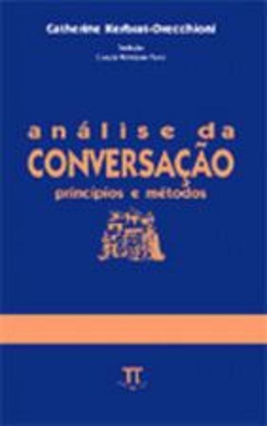 ANALISE DA CONVERSACAO - PRINCIPIOS E METODOS