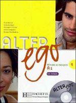 ALTER EGO LIVRE DE L'ELEVE 1 + CD ENCARTE