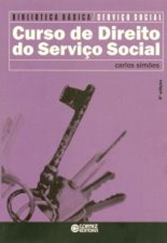 CURSO DE DIREITO DO SERVICO SOCIAL