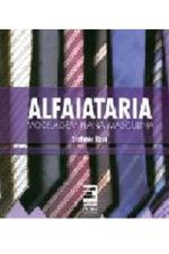 ALFAIATARIA - MODELAGEM PLANA MASCULINA