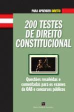 200 TESTES DE DIREITO CONSTITUCIONAL