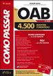 Como Passar Na Oab - Fgv - 4.500 - 1. Fase - Quest 8a.ed.   - 2012