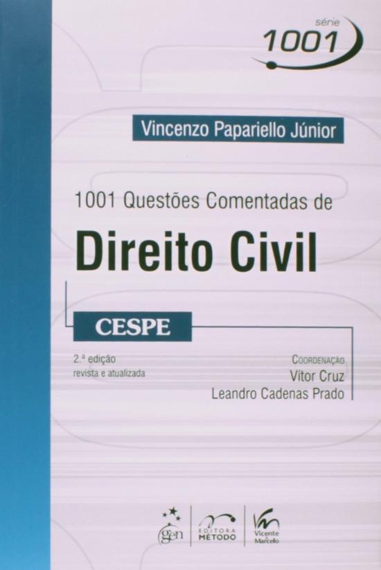 1001 QUESTOES COMENTADAS DE DIREITO CIVIL