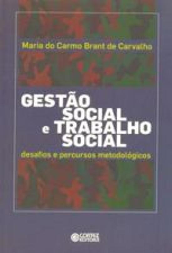 GESTAO SOCIAL E TRABALHO SOCIAL - DESAFIOS E PERCU
