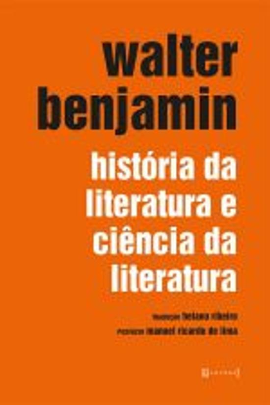 HISTORIA DA LITERATURA E CIENCIA DA LITERATURA