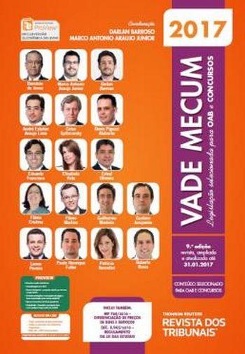 VADE MECUM OAB 2017 - LEGISLACAO SELECIONADA PARA
